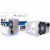 Fonte 230w Real - 450w Nominal - 24 Pinos Bluecase