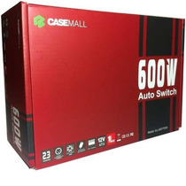 Fonte Real Casemall 600w Auto Switch - All-600ttpsw