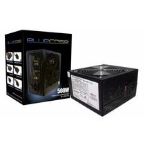 Fonte Bluecase Original 500w Real - 24 Pinos + Pci - E Sata