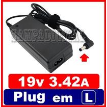 Fonte Carregador Para Notebook Asus X45a X45u Pa-1650-66