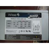 Fonte Wisecase Atx 500w Wsng-500w-1x8