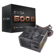 Fonte 600w Reais Evga 80plus Bronze Atx 100-b1-0600-kr 600 W
