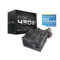 Fonte Atx Gamer S/cabo De Forca 430w 80plus Evga
