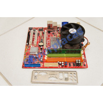 Kit Placa Mãe Pos-mig31ae 775 + Pro.intel Cel.1.8 + 1gb Ddr2