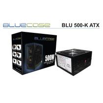 Fonte Atx Gamer 500w Reais Bluecase 24p + Pci-e Compre Já