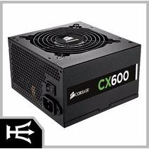 Fonte 600w Real Cx600 80plus Bronze Cp-9020048-ww Corsair