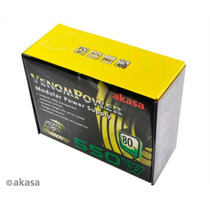 Fonte Atx Real 550w Venom Modular Akasa