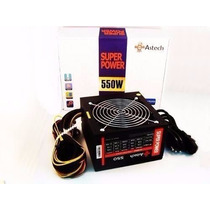Fonte Atx Real Nova 550w Super Power Astech