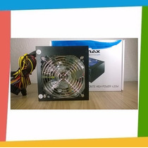 Fonte Atx 420w Real / 420w Reais 24 Pinos 2 Sata High Power