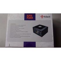 Fonte Real Atx Gamer 550w Astech 24p Sata Pronta Entrega