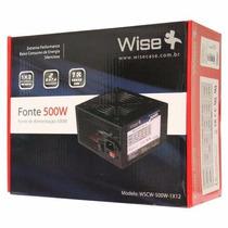 Características: - Marca: Wisecase - Modelo: Ws-500w-1x12 E