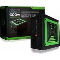 Fonte 600w Atx Real Mp600w One Power