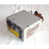 Fonte Atx 450w Nominal (200w Real) Para Computador Sem Cabo