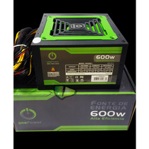 Fonte 600w Atx Real - One Power Fan 12 - 600 W Reais
