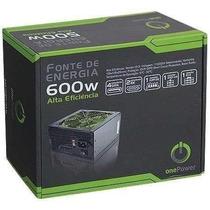 Fonte Real 600w Mp600w Onepower Retirada Imediata