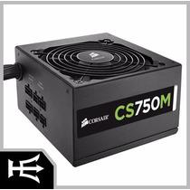 Fonte Sem-modular Cs750m 750w 80plus Gold Cp-9020078 Corsai