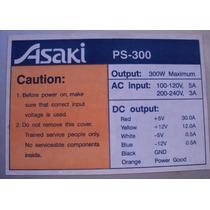 Fonte At Asaki Ps 300 Usada 300 W