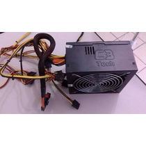 Fonte Atx C3 Tech 400w Reais Puf-400s Bivolt 4+4 E Pci-e