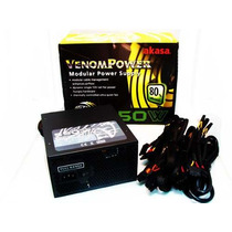 Fonte Atx Real 550w Pc Gamer 24 Pinos Sata Venom Power