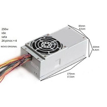 Fonte Open Pc8046 Slimline Dell Ibm Hp Ide Sata 250w
