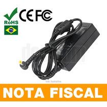 Fonte P/ Netbook Hp Mini 110 210 700 1000 1100 2100 Nova 108