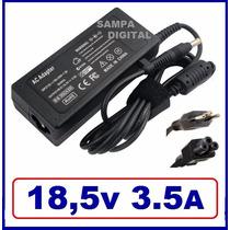 Fonte Carregador Notebook Hp 500 510 520 530 550 G3000 18,5v