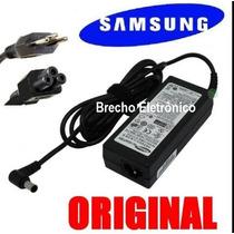 Fonte Carregador Notebook Samsung 19v 3,16a Rv410 Original