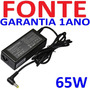 Fonte Compativel 19v Cce Onix 323be+ 323le+ 345pe+ 525le+