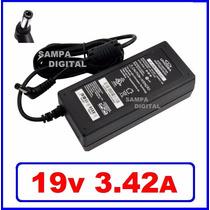 Fonte Carregador 19v 3,42a Notebook Megaware Premium Mobile