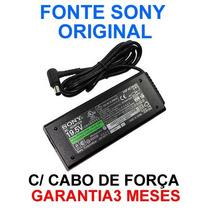 Fonte Original Sony Vaio 19,5v - 90w Pcg Vgn