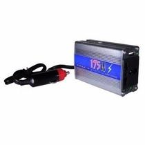 Adaptador Veicular Inversor 1tomada 1 Usb 175w Potencia 110v