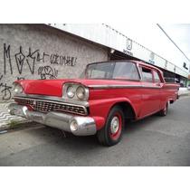 Vd Ford Fairlane 59 2 Portas N Landau Belair Cadilac Impala