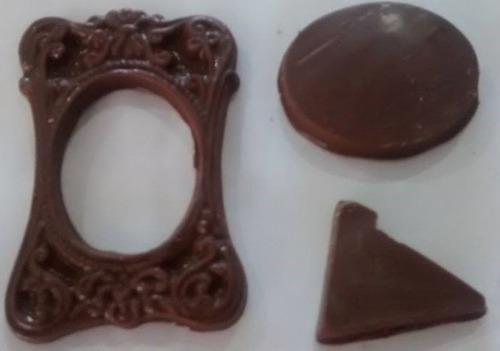 forma de acetato chocolate porta retrato moldura kit 10 p s r 20 00 no mercadolivre. Black Bedroom Furniture Sets. Home Design Ideas