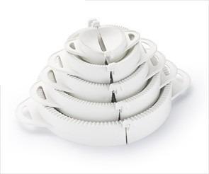 Forma Pastel Risoli Salgados Kit Modelador Massas 5 Formas