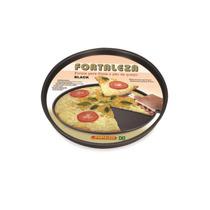 Forma Pizza 30 Black - Fortaleza Alumínio Fortaleza