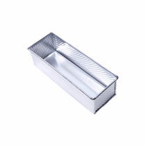 Forma Pão De Forma Alumínio 30x10x9 Sem Tampa - Kit 10peças