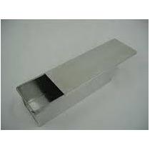 Forma Para Pão De Forma 750g Com Tampa Em Aluminio