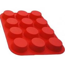 Forma Silicone Cupcake 12 Cavidades Unidades - Petit Gateau