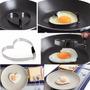 Molde Forma De Aço Para Ovo Frito Divertido - Coração