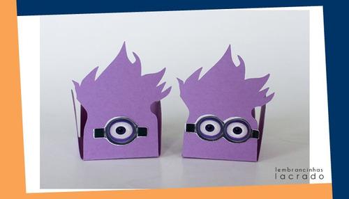 Forminhas Minions - Kit - Variadas - 20 Unidades