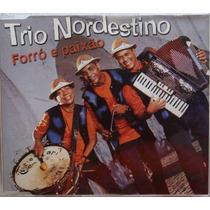 Trio Nordestino Cd Single Promo Nacional Forró E Paixão 2001