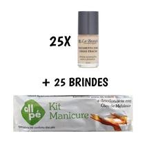 25 Base Unhas Fracas Tratamento La Beauté + 25 Brindes