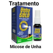 Unha Gold =(lakesia) Solução Antimicótica Spray 30ml Kit C/2