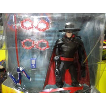 Kit 01 Boneco Do Zorro Gulliver Com Acessorios