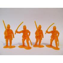 Lote De Soldadinhos Gulliver - Contém 4 Soldados - (j-126)