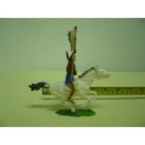 Brinquedo Antigo Cavalo Forte Apache Elastolin West Germany