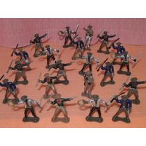 21 Cowboys Em Pé Mesma Escala Forte Apache Gulliver