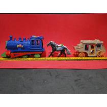 Locomotiva & Diligencia Forte Apache Mesmo Tamanho Gulliver