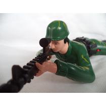 Boneco Soldado Militar Eletrõnico Que Se Movimenta