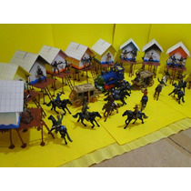 Forte Apache Cidade Velho Oeste Cowboy Locomotiva Diligencia
